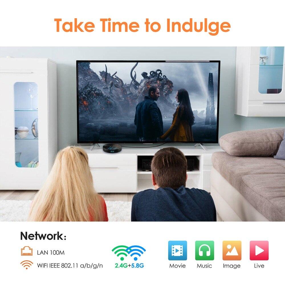 Image 4 - Smart tv box HK1MAX Android 9,0 2,4G/5G Wifi BT 4,0 RK Четырехъядерный 4K 1080P Full HD hk1 max приставка Netflix KD плеер-in ТВ-приставки и медиаплееры from Бытовая электроника on AliExpress - 11.11_Double 11_Singles' Day