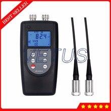 Discount! VM6380-2 Double Channel Digital Meter Portable Vibrometer Vibration Analyzer Tester with 2 Piezoelectric Transducers Sensor
