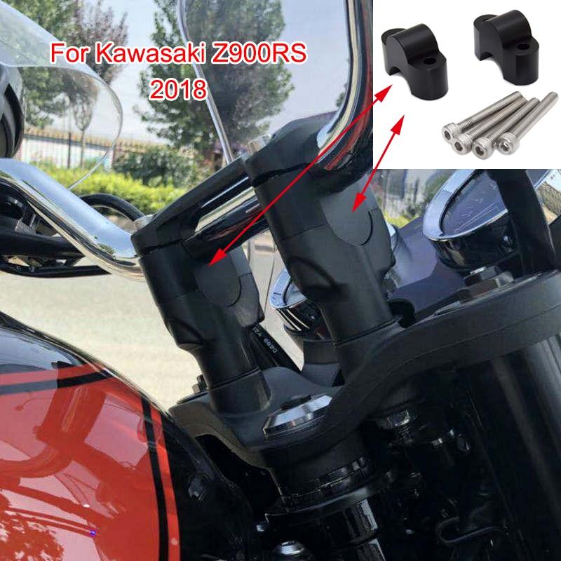 bike GP handlebar risers for Kawasaki Versys 1000 2015-2018 Height up Adapters