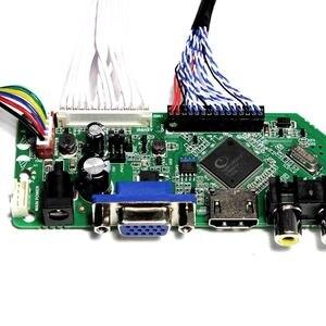 """Image 4 - Telewizor z dostępem do kanałów H DMI VGA AV USB AUDIO płyta kontrolera LCD do 20.1 """"22"""" M201EW02 V1 M201EW02 V8 M201EW02 V9 M220EW01 1680x1050 ekran LCD"""