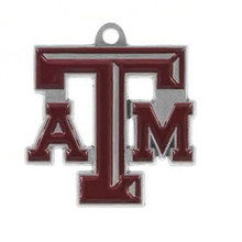 Buy college pendants and get free shipping on aliexpress double nose enamel texas m aggies college team logo metal mozeypictures Image collections