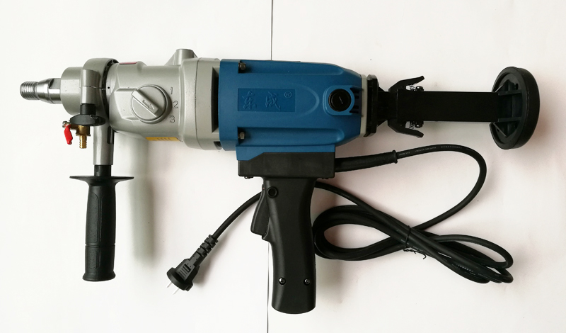 190mm Diamond Drill With Water Source (hand -held) 1800W Concrete - Outillage électroportatif - Photo 5