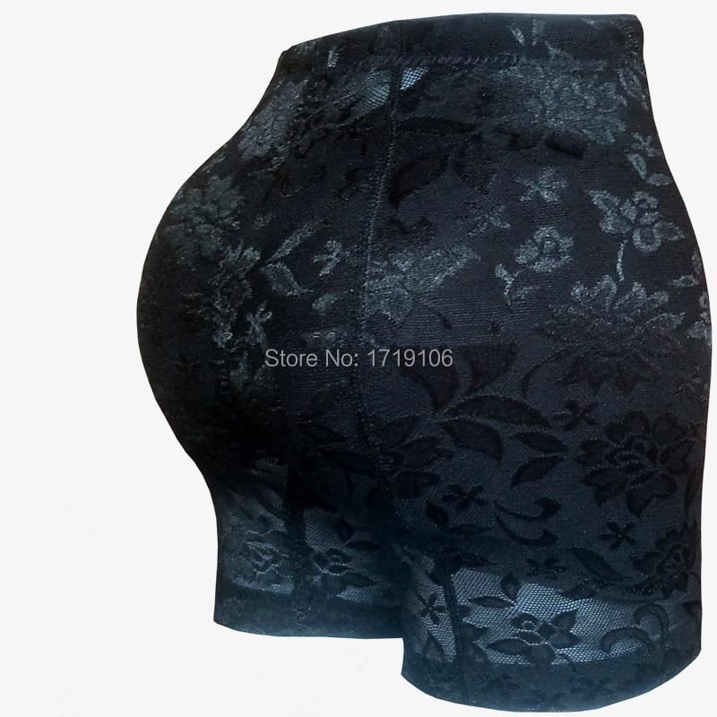 54b2ae4fb24c Femme rembourré culottes butt lift booty enhancer faux coussinets fesses  hanche cul dame sexy dentelle underwear noir beige m, l, xl, ...