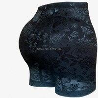 Kadın yastıklı külot butt lift ganimet arttırıcı sahte kalçalar pedleri kalça göt bayan seksi dantel underwear siyah bej m, l, xl, xxl