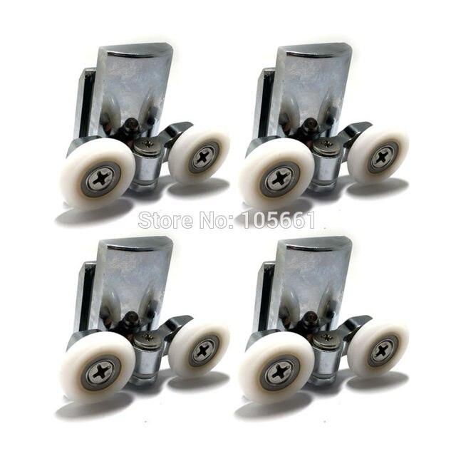 4 duschtr rder 23mm duschtr rollen boden 4 stcke - Duschtur Rollen