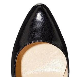 Image 3 - Onlymaker kadın platformu 16cm ince yüksek topuklar ayakkabı seksi Stiletto düğün parti moda pompaları