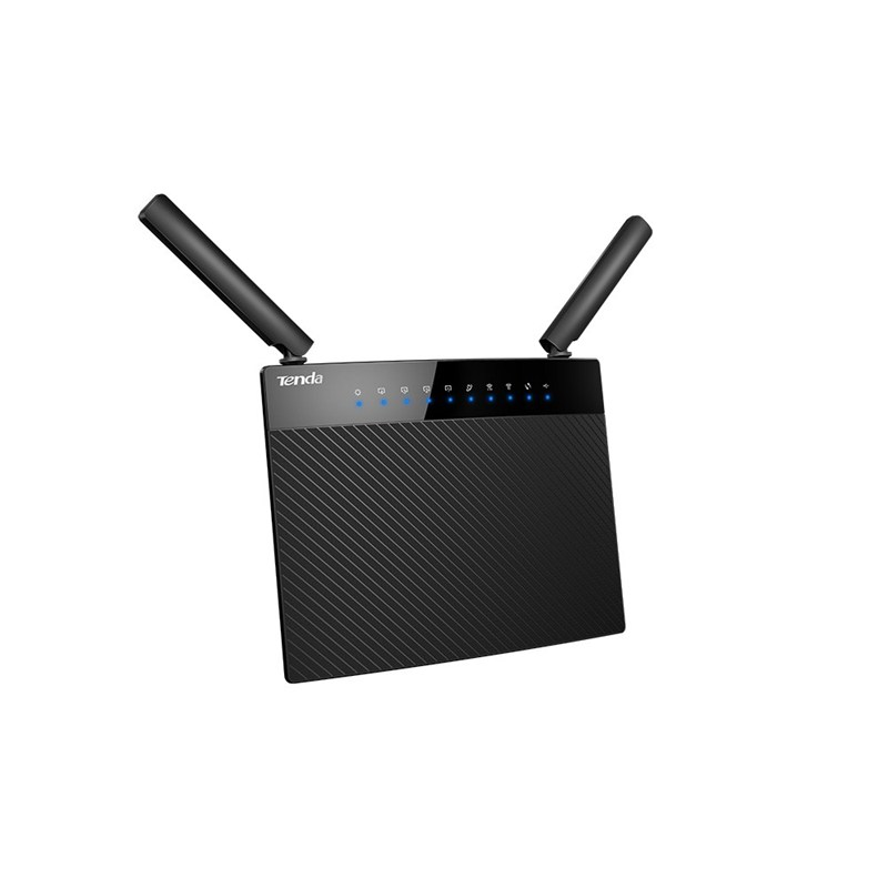 <font><b>Tenda</b></font> AC9 Dual Band WIFI Router 1200Mbps 2.4GHz/5GHz 900Mbps+300Mbps With USB shared Wi-Fi <font><b>802.11ac</b></font> Remote Control APP English image