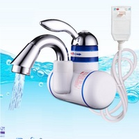 W818 8,3000W Instant Hot Water Faucet,Electric Instant Water Heater,Tap Kitchen Electric Hot Water Tap,Heating Faucet EU Plug