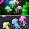 Горячая! светящийся Эффект Искусственного Медузы Украшение Fish Игрушки Новый Продажи
