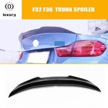 PSM Стиль углеродного волокна задний Багажник крыло спойлер для BMW F30 3 серии F32 F36 4 серии F80 M3 F82 m4 2012-2017
