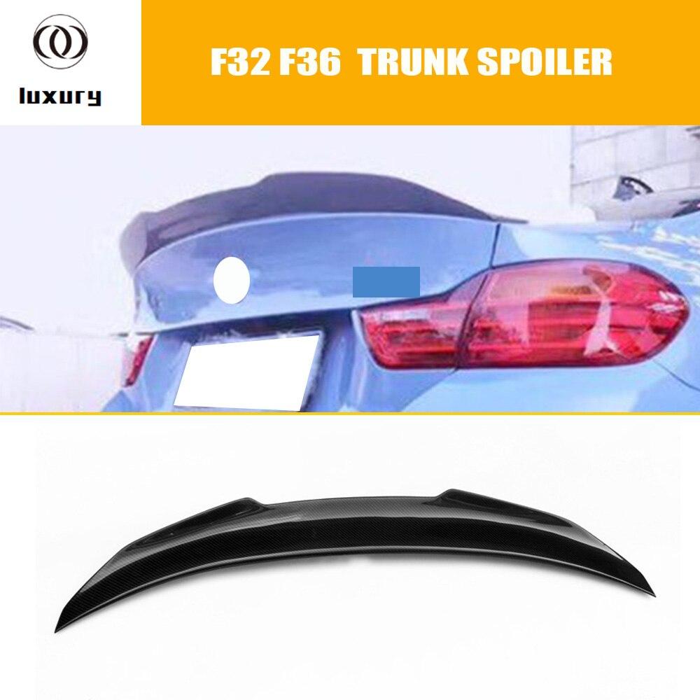 PSM Style Fiber De Carbone Coffre Arrière Aile Aileron pour BMW F30 3 série F32 F36 4 Série F80 M3 F82 M4 2012-2017