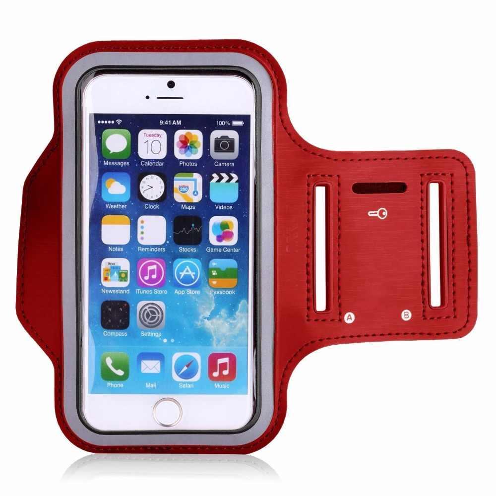 Регулируемый Бег Спорт Тренажерный зал повязки сумка для Xperia Z3 Compact Водонепроницаемый Бег повязку мобильного телефона кожух ремня подарок мужчине