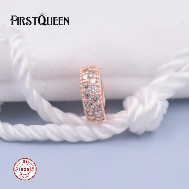 FirstQueen 14k Rose Gold...