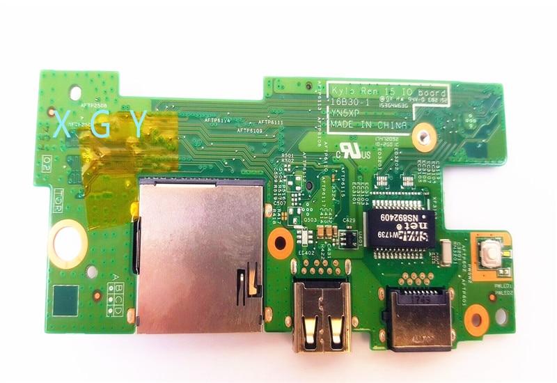 D'origine pour DELL INSPIRON 15-7570 15-7000 7570 SERIE ETHERNET USB-POORT CONSEIL RNG4J 0RNG4J CN-0RNG4J YN5XP 100% test OK