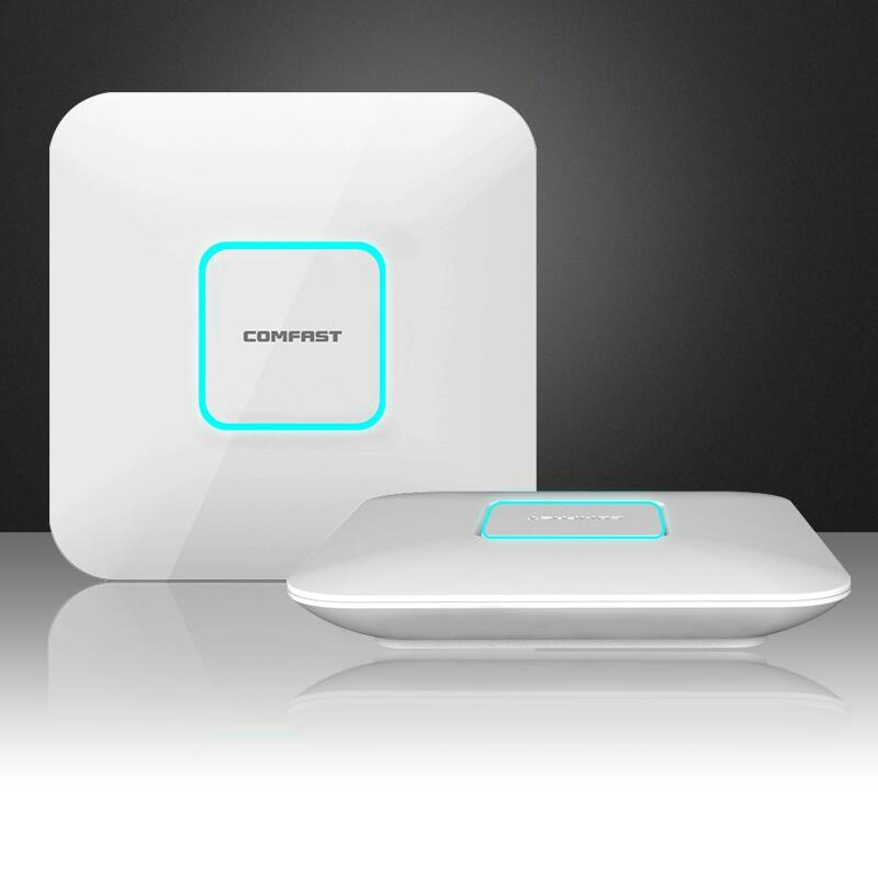 COMFAST wireless Ap CF-E380AC1750Mbps Ceiling AP 802.11AC 5.8G+2.4G Qualcomm Indoor AP &WI FI router & WiFi Access Point 48V POE wifi project manager comfast ac200 full gigabit ac authentication gateway routing for multi wan access wireless roaming gaterway