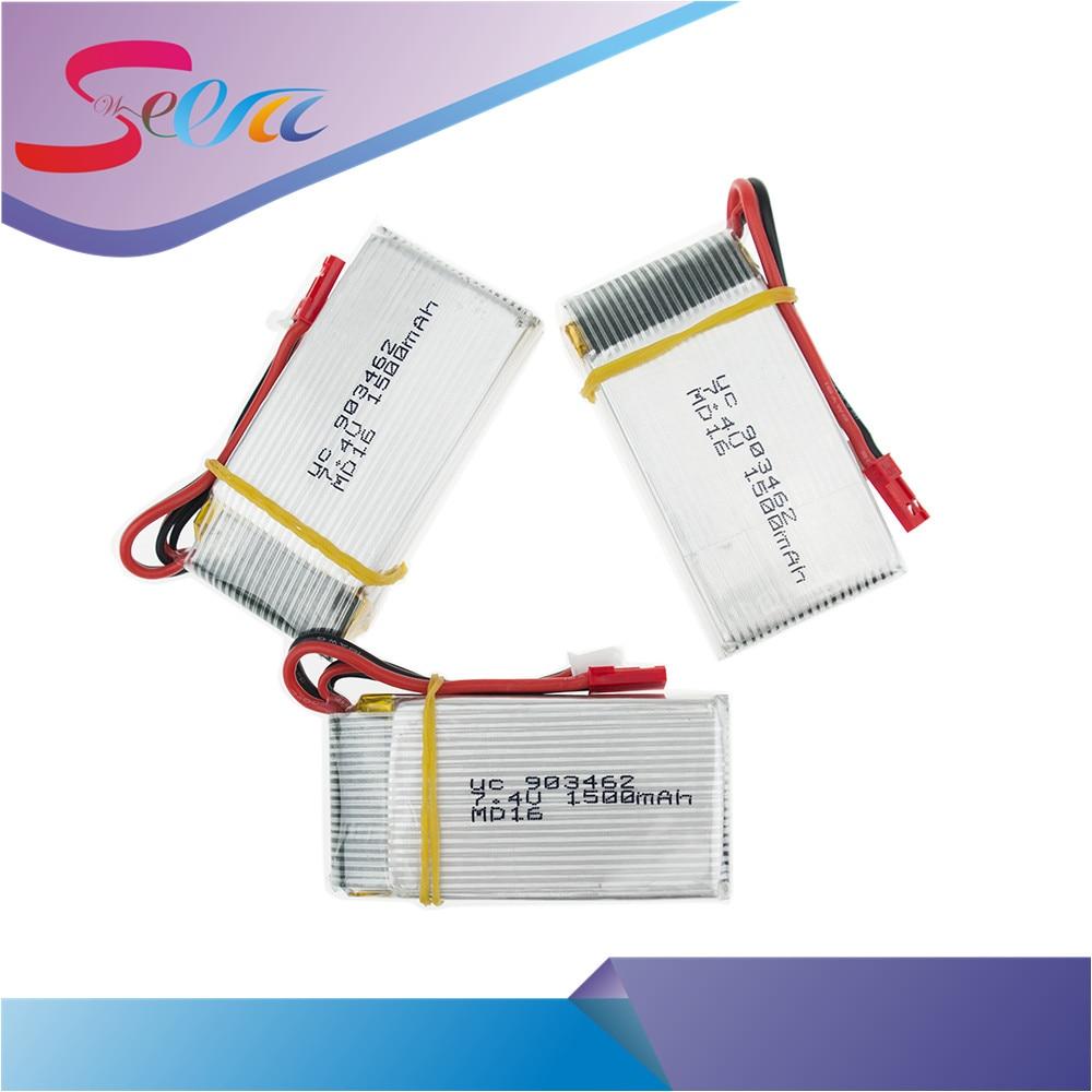 3pcs/lot 2S With 1split3 cable and USB charger 7.4V 1500Mah 25C JST plug Lipo Battery For WLtoys V913 L959 L202 Toy battery RC 4pcs wltoys v913 v913 25 rc helicopter spare parts 7 4v 1500mah battery v913 battery