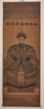 Chinese art paper handmade oil paintings. Fans of the qing dynasty