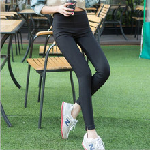 New 2016 Leggings Pencil Pants Leg Opening Split Pants Women's Jeggings Classic Capris Slim Skinny Dress Pants M/L/XL/XXL