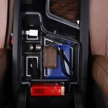 Для Volvo XC60 2018 2019 Пластик интерьер автомобиля центр подлокотник органайзер для хранения бардачок автомобиля-укладки авто аксессуары