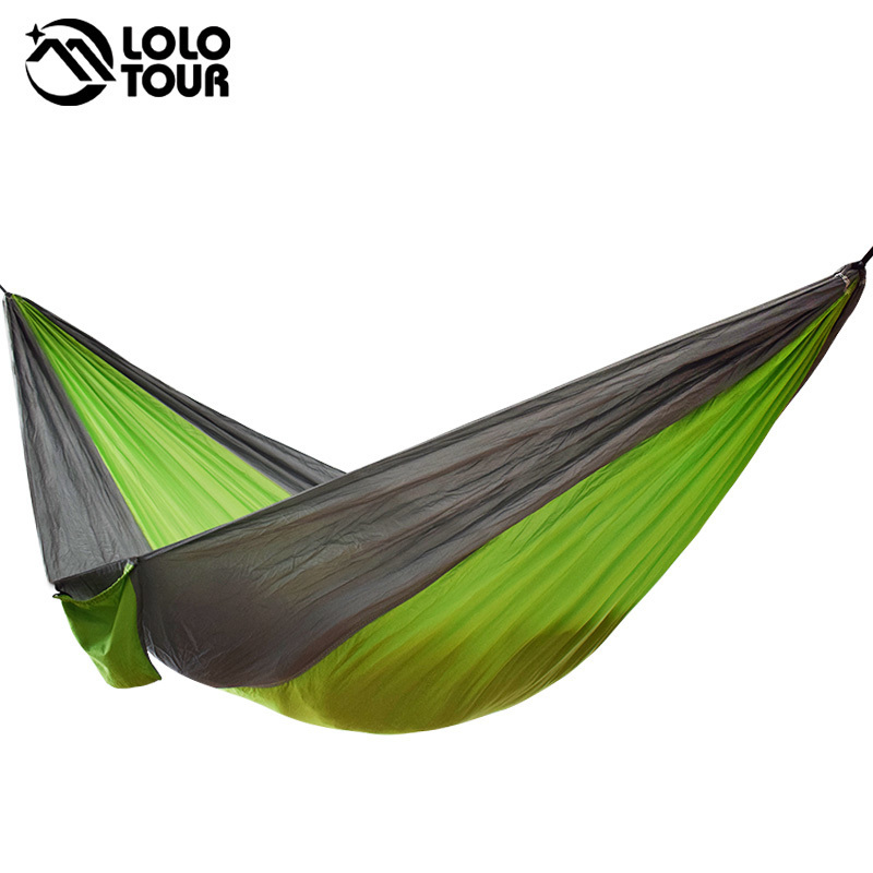 Hammocks Outdoor Swing Hammock Mosquito Net Double Camping Stripe Padded Canvas Swing Park Single Swing 2000cm150cm Blue Rainbow Back To Search Resultsfurniture