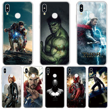 Coque Case For Huawei P20 P30 Mate 20 10 Pro P10 P8 P9 Lite 2017 P Smart 2019 Marvel Avengers Heros For Huawei P30 Case TPU Soft(China)