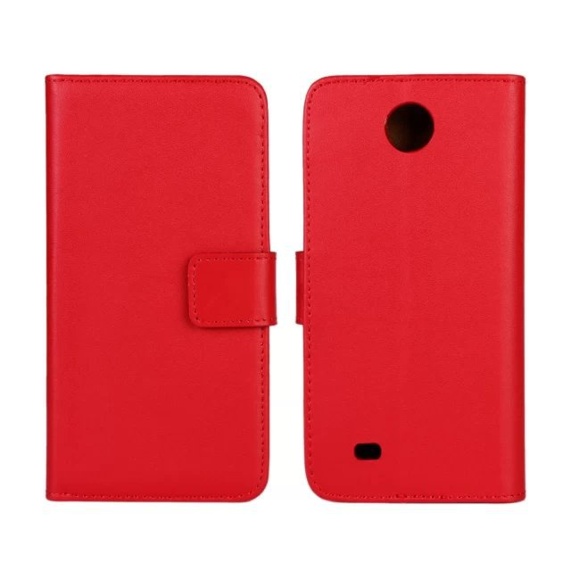 11 Color High Quality Genuine Leather Wallet Stand Case Cover For HTC Desire 300 with TV Function and ID Card Holder