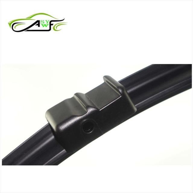 """Free shipping car wiper for Volkswagen Multivan (2003-2005) and T5 Caralleve (2003 onowards) 24""""+24"""" fit side pin wiper arms"""