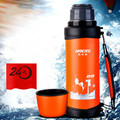 1L Vacuum Flask Camping Large Capacity Cup Wide Mouth Thermos Flask Stainless Steel 1000ml Kettle Keep Temperature Cool and Hot