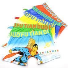 5 pcs/lot Kids Boy Underwear Cartoon Super Hero Childrens Boxer Underpants Briefs Boys Underware Panties 2-12 Y