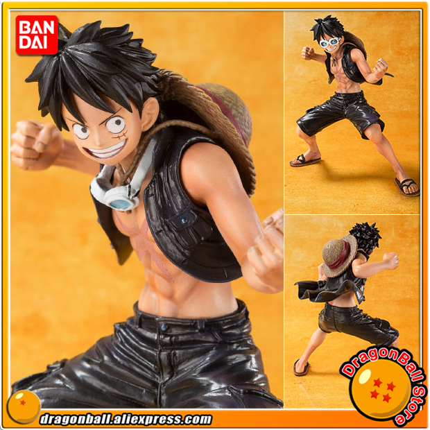 Anime ONE PIECE Original BANDAI Tamashii Nations Figuarts ZERO Collection Figure - Monkey D. Luffy -ONE PIECE FILM GOLD Ver.-