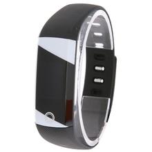 Водонепроницаемый Bluetooth SmartBand сна сердечного ритма Мониторы Фитнес трекер браслет умный браслет