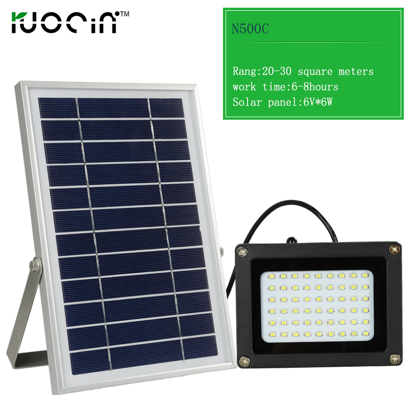 Newest Popular Outdoor Garden Light High Lumens 54 Led Solar Flood Light Waterproof Ip65