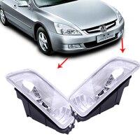 beler 1Pair 33951 SDA H01 33901 SDA H01 Front Left & Right Fog Light Lamp Cover Fit for Honda Accord 2003 2004 2005 2006 2007