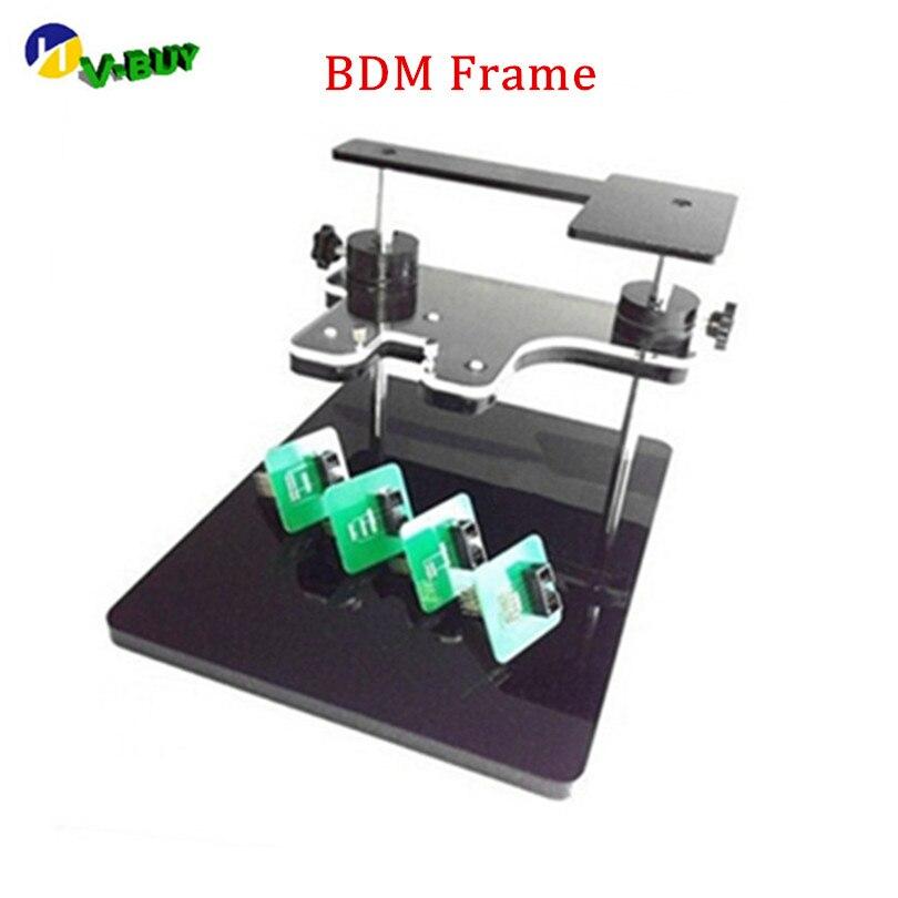 Cadre gratuit BDM de programmeur d'ecu de DHL avec tous les adaptateurs programmeur de BDM convenable Original FGTECH pour l'outil de réglage de puce d'ecu de voiture de BDM 100 CMD