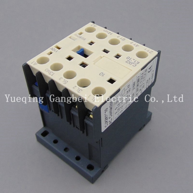 CJX2K0910Z small DC contactor LP1K0910 mini type contactor voltage  220VDC 110VDC 48VDC 36VDC 24VDC 12VDC