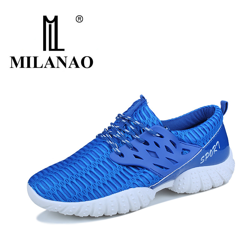 MILANAO 2018 The New Running Shoes For Men Speed Sport