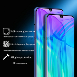 Image 3 - 2Pcs Gehärtetem Glas Für Huawei Honor 10i 10 lite Volle Schutz Film Screen Protector Für Huawei Honor 10 lite 10i Glas Fall