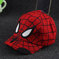 Summer boy cap baseball hat Spider-man cap snapback kids casquette sun hat Children's hat