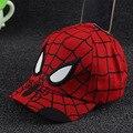 Verano gorra de béisbol niño sombrero de Spider-man snapback cap niños casquette sombrero para el sol sombrero de Los Niños