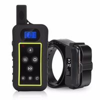 amazon remote dog training collar dt2000 waterproof rechargeable electro shock remote dog collar for