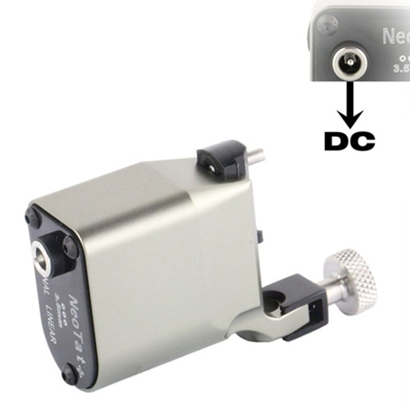 New Tattoo Machine NeoTat Rotary Tattoo Machine Best Quality Gray Color Permanent Tattoo Gun For Tattoo Artist Free Shipping