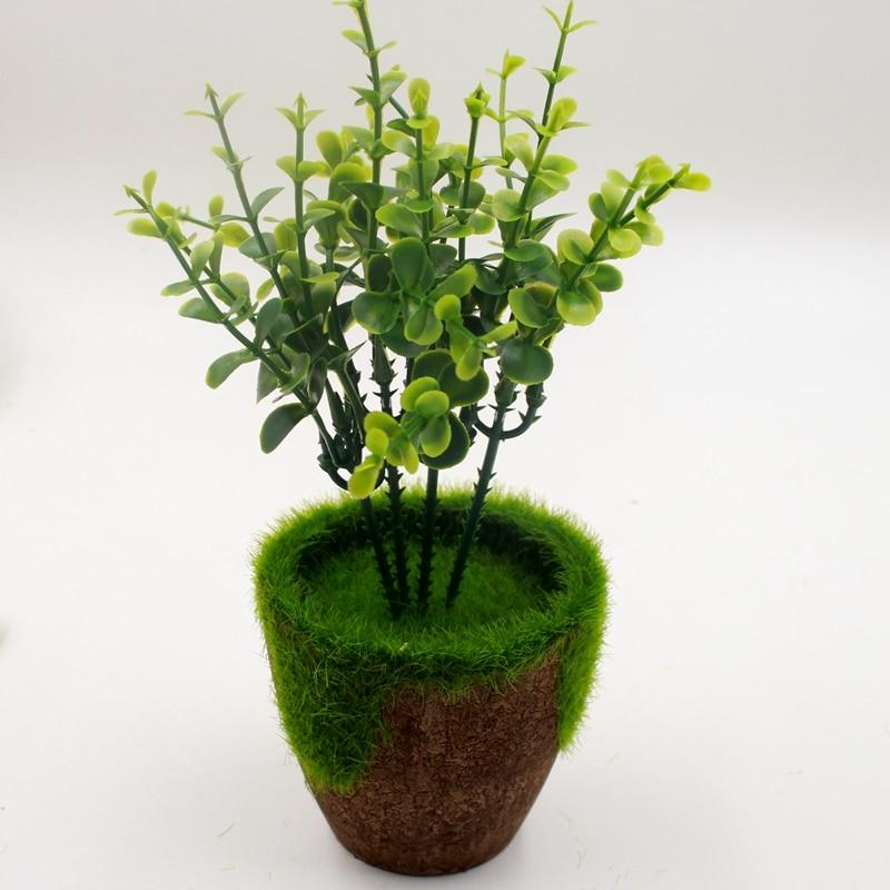 verde minimalista pastoral maceta macetas musgo csped jardn vertical suministros de plstico flor artificial macetas de