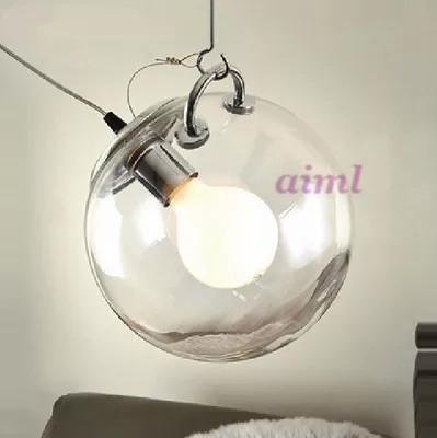 Glass pendant light Europe E27 simplicity Bar lights Dining room originality 110-220V pendant lamp glass new 19 lights idle max sea urchins glass pendant light lamp ems dining room lights bar hone lighting zl332