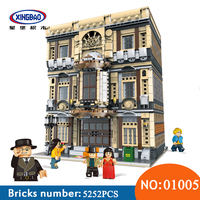 XingBao 01005 блок 5052 шт. подлинной творческой MOC город серии морской музей набор строительных блоков Кирпичи игрушки для детей