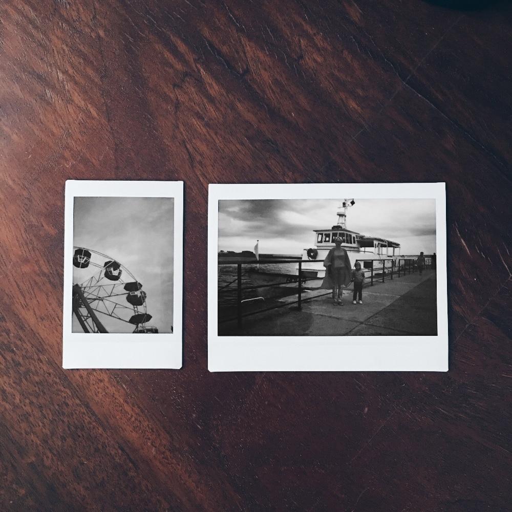 Nouveau 3 paquets Fujifilm Instax Mini Film Monochrome pour Polaroid Mini 8 7 s 7 50 s 50i 90 25 dw partager SP-1 Photo instantanée mini appareil Photo - 2
