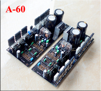 A60 refer Golden throat 300W 4R Mirror design Current feedback amplifier board Can match 2SC5200 A1943 / ON/ sanken power tube
