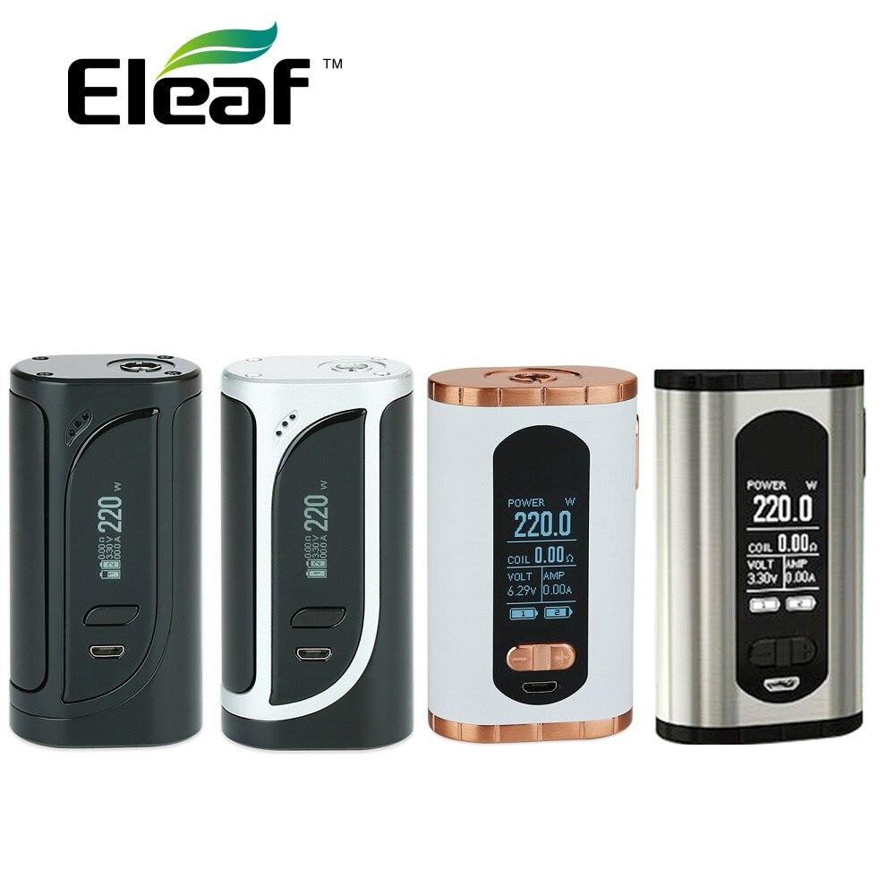 Original Eleaf invocar 220 W TC caja MOD Vs Eleaf IKonn 220 caja MOD 220 W No 18650 batería electrónica cigarrillo Mods del IKuun I200