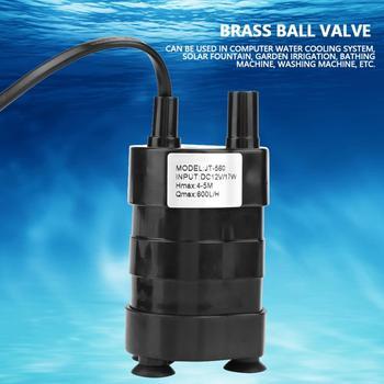 Mini High Hydraulic Head bomba agua DC Brushless Submersible Water Pump 12V -20 to 90 Degree pump mini high hydraulic head dc brushless submersible water pump 12v eco friendly submersible pump new arrival
