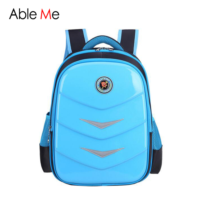 PU Leather School Bags Waterproof Children backpacks High Quality Kids Student Bag Large Capacity Children's backpack for Boys