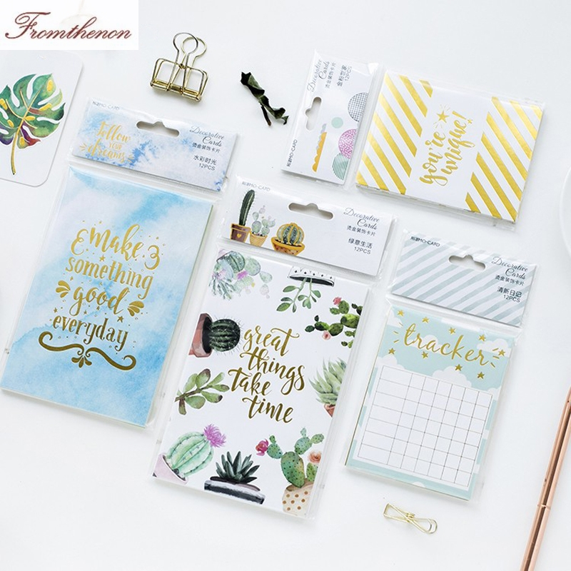 Fromthenon cute cactus design notebooks index Pages index dividers Planner Decoration Cards school paper bookmarks Stationery